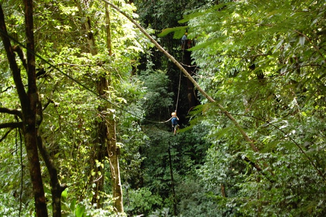 zipline in costa rica
