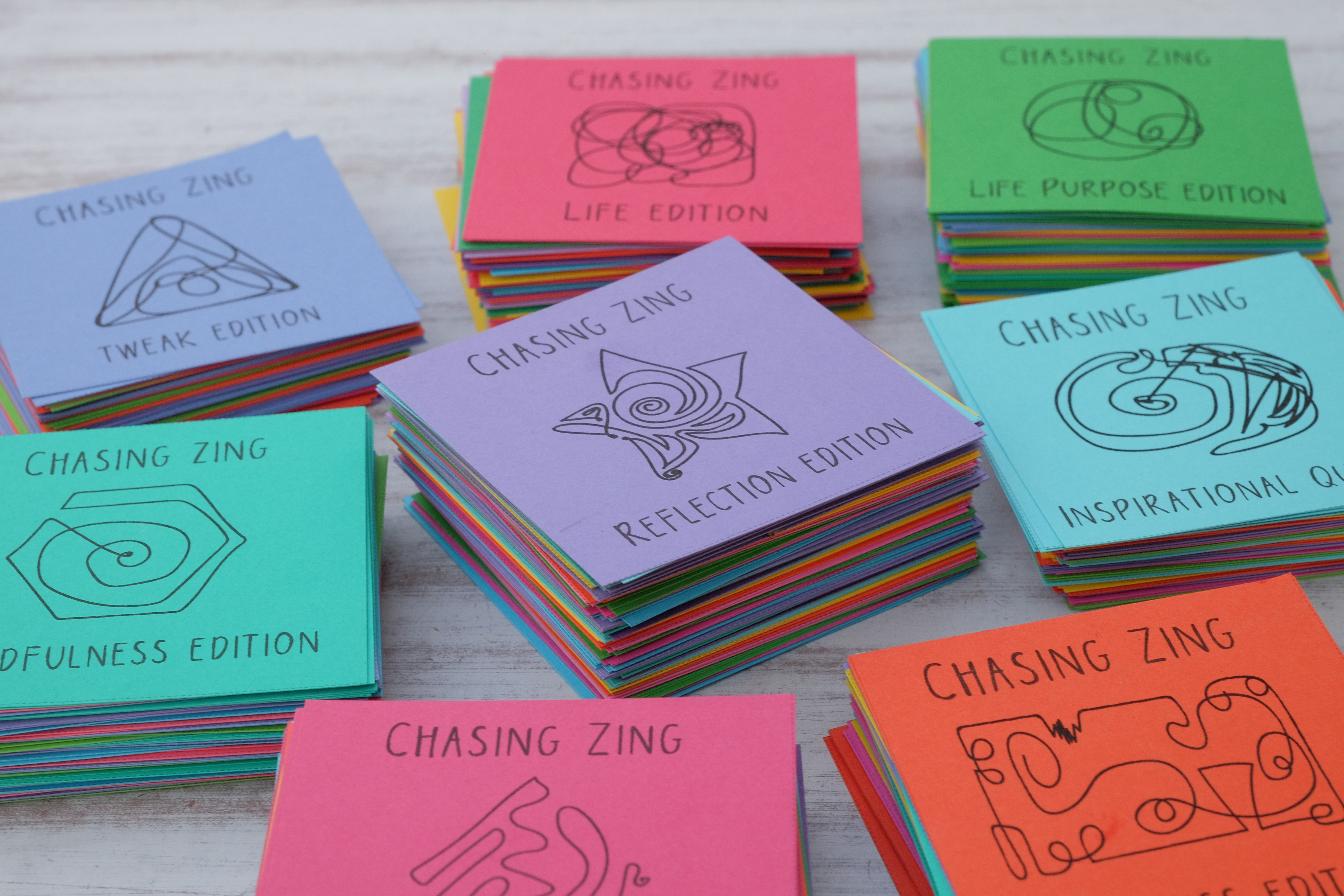 chasing zing reflection cards product image
