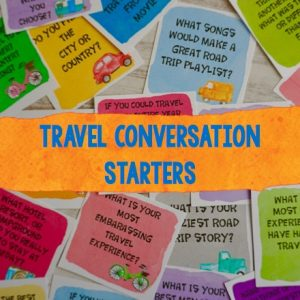 Travel Conversation Starters sample product images