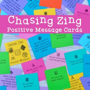 product image of chasing zing message cards