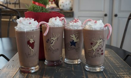 Chocolate Peppermint Milkshake
